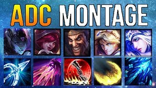 ADC Montage 11 - Best ADC Plays Compilation | League Of Legends Mid