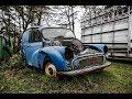 Abandoned 1960s (Austin) Morris Minor Van - Rotten Barn Find (British Classic)