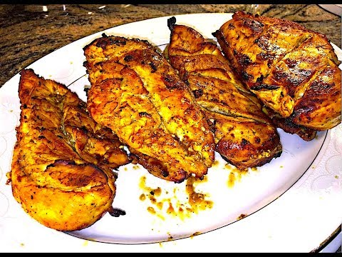 How to make barbecue chicken breast in oven