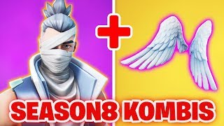 TOP 10 Season 8 SKIN COMBINATIONS in FORTNITE! | Top Season 8 Skin Kombis