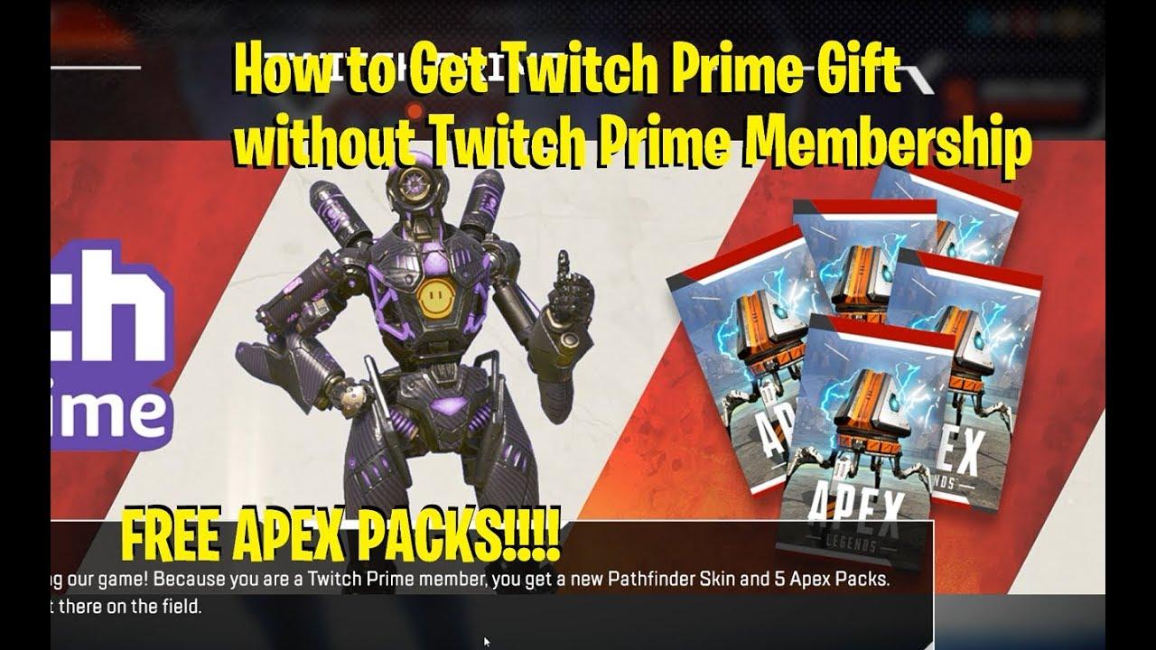 Twitch prime apex legends