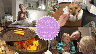 Raphaels erstes Essen |Baby Led Weaning |Treffen mit Carina Nova |Marie vloggt |Kathis Daily Life