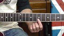 Morning Glory Guitar Tutorial