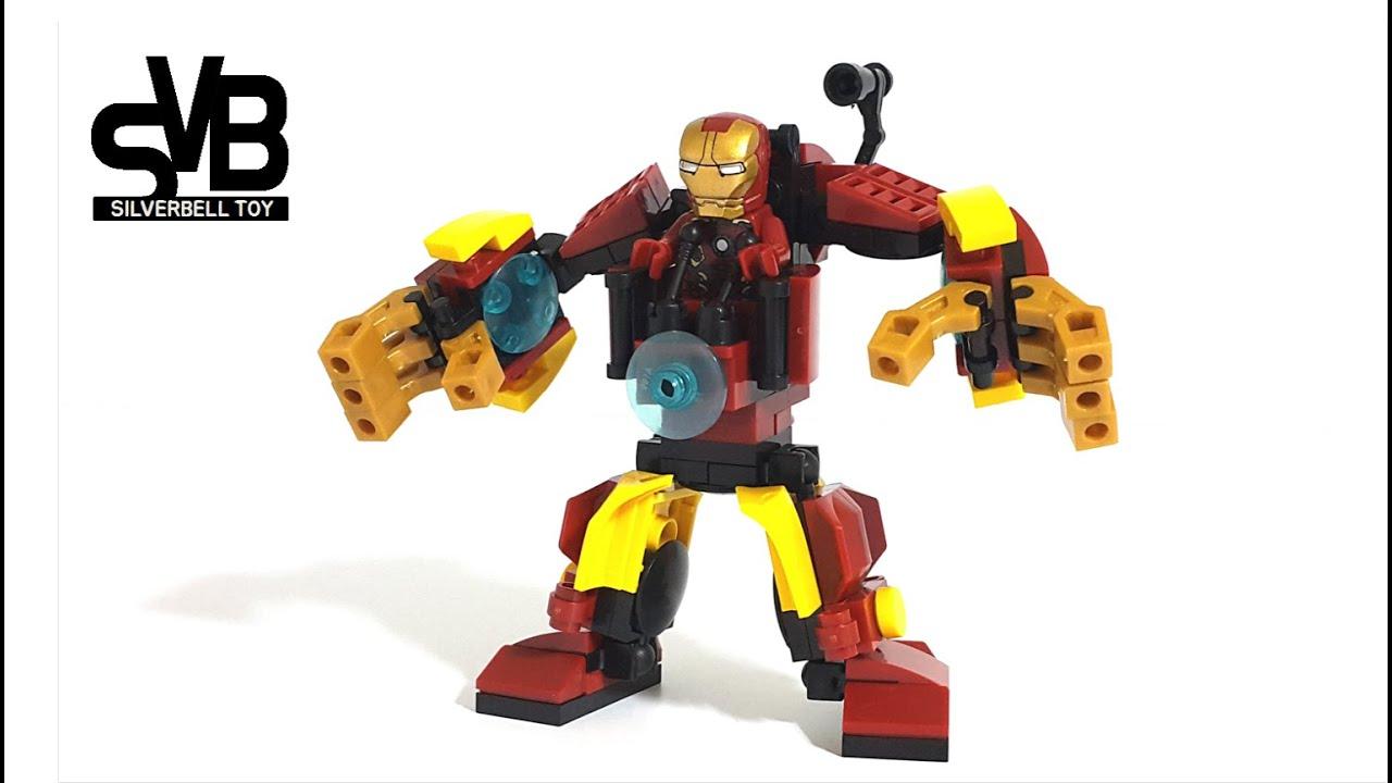 ELEPHANT   ELEPHANT LEGO Iron Man Robot - YouTube