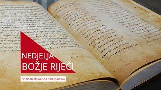 Ususret Nedjelji Božje Riječi: Sveto pismo - svjetlo koje vodi do Boga!