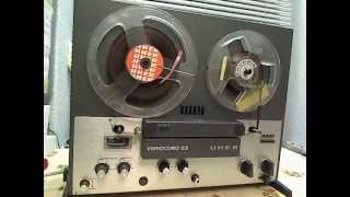 UHER Variocord23 Monophonic HiFi tape recorder from 1969 before any repairs done.