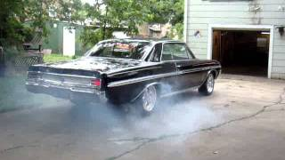 1964  Buick Skylark Burn Out.