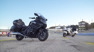 2018 Honda Gold Wing Tour vs. 2018 BMW K1600 Grand America - On Two Wheels