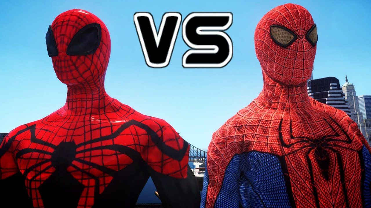 the amazing spiderman vs the superior spider-man - youtube