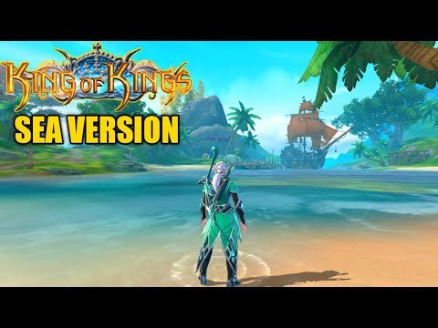 King OF Kings [SEA] Gameplay (OPEN WORLD MMORPG) Android/IOS
