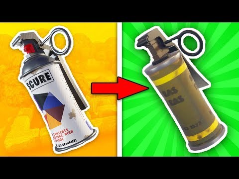 REAL REASON WHY THE SMOKE GRENADE WAS REMOVED. (Fortnite Battle Royale)