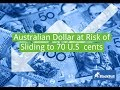 Australian Dollar at risk of sliding to 70 U.S cents