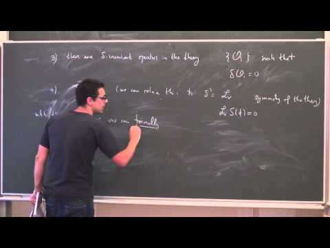 Lecture 1 | Introduction to Topological Quantum Field Theories | M. Marino | Лекториум