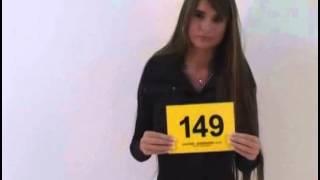 NESSA DEVIL CASTING MODELKA 149 FIRST EXPERIENCE