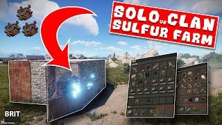 THE SOLO SULFUR FARM - Rust