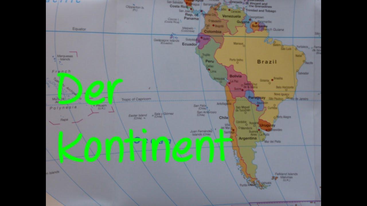 Learn German: Der Kontinent