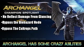 Archangel's unique ability- Marvel Contest of Champions
