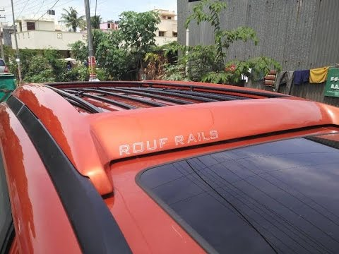 Xuv 500 W10 Luggage Carrier | Mahindra Xuv 500 W10 Roof Top Carrier,Rouf  Rails