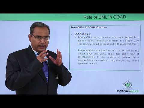 UML  Role of UML in OOAD