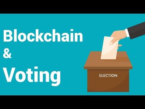 Blockchain in Voting