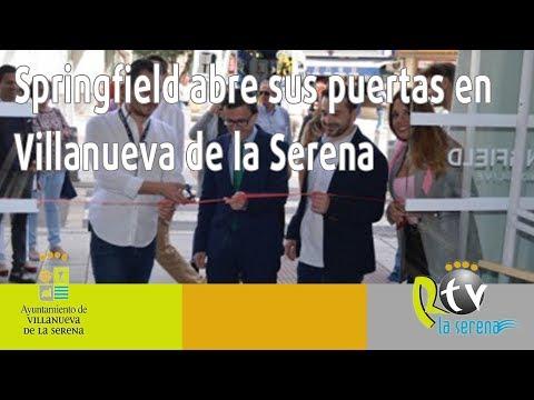 Springfield abre sus puertas en Villanueva de la Serena.
