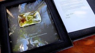 THANK YOU Subscribers!!! YouTube sent us a silver play button!
