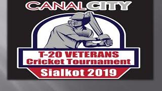 Faraz Sports  vs  Grays Seniors  |  Canal City T20 Veterans (2019)