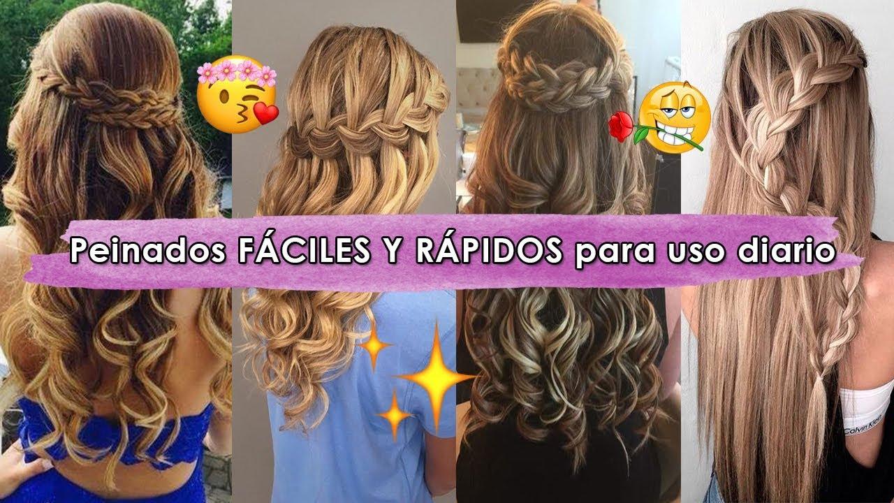 10 Peinados Faciles Y Rapidos Para Uso Diario Los Peinados Mas