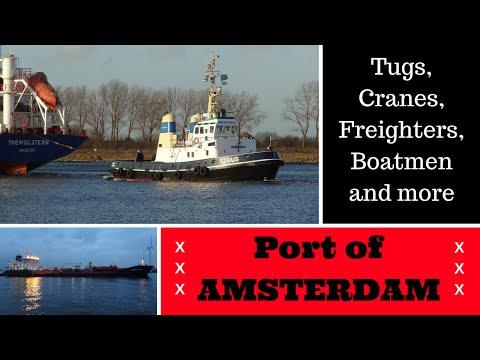 Port of Amsterdam ~ Haven - Hafen - Porta - Puerto