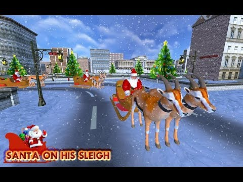 Christmas Santa Rush Delivery- Gift Game | Christmas Games | Santa Claus Gameplay | Kids TV Channel