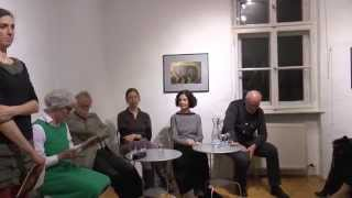 """Galerie 44er Haus. Eröffnung """"eingeweideschau"""" ein Projekt der Kulturinitiative Narrenschyff"""
