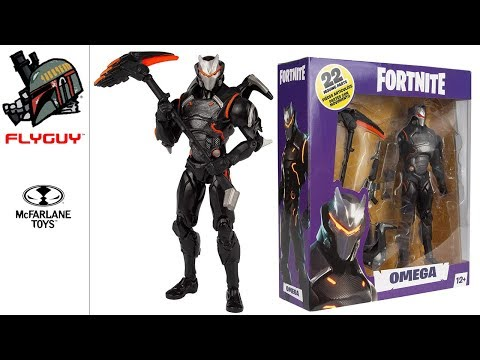 McFarlane Toys Fortnite Omega 7 Inch Toy Action Figure Review | By FLYGUY