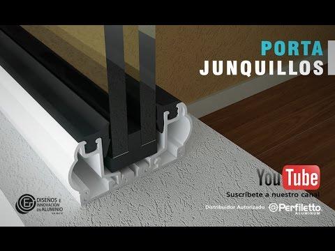 Como armar una ventana fija con porta junquillos youtube for Como armar una ventana de aluminio