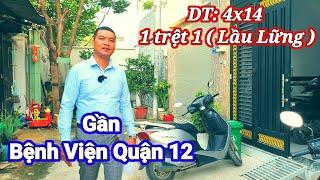 Nhà bán Quận 12 TPHCM | 1 sẹc đường Dương Thị Mười Phường Tân Chánh Hiệp | NTN 0909117880