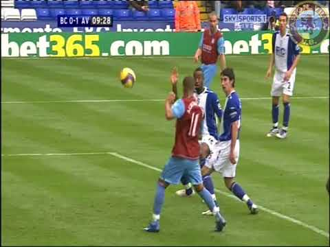 Birmingham City 1 Aston Villa 2 - Barclays Premier League - Nov 11th 2007