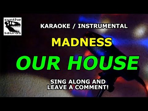 🎹 Our House Madness karaoke instrumental with lyrics
