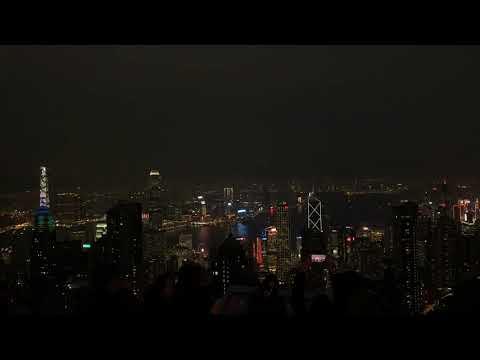 Victoria peak 🇭🇰 Hongkong / ipone XS / time lapse