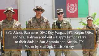 Father's Day 2018 SupportOurTroops.Org - AFGHANISTAN, June 17, 2018