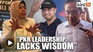 Zuraida: PKR leadership's handling of Haziq 'unwise'