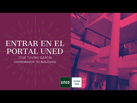 ACCESO AL PORTAL UNED (José Taviro García)