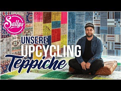Patchwork Teppiche / Upcycling in 100% Handarbeit / Sallys Welt