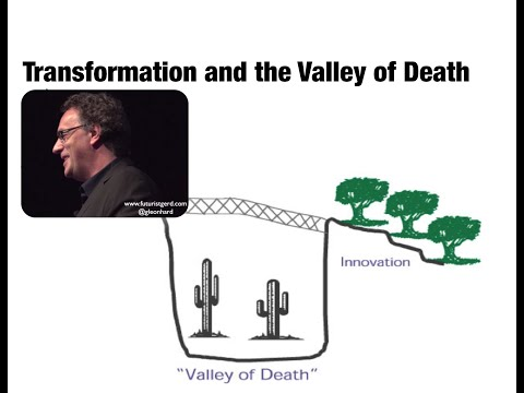 Business transformation and the Valley of Death (Futurist Speaker Gerd Leonhard)