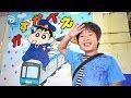 春日部駅にクレヨンしんちゃんの発車メロディーを聞きに行きました【がっちゃん】東…
