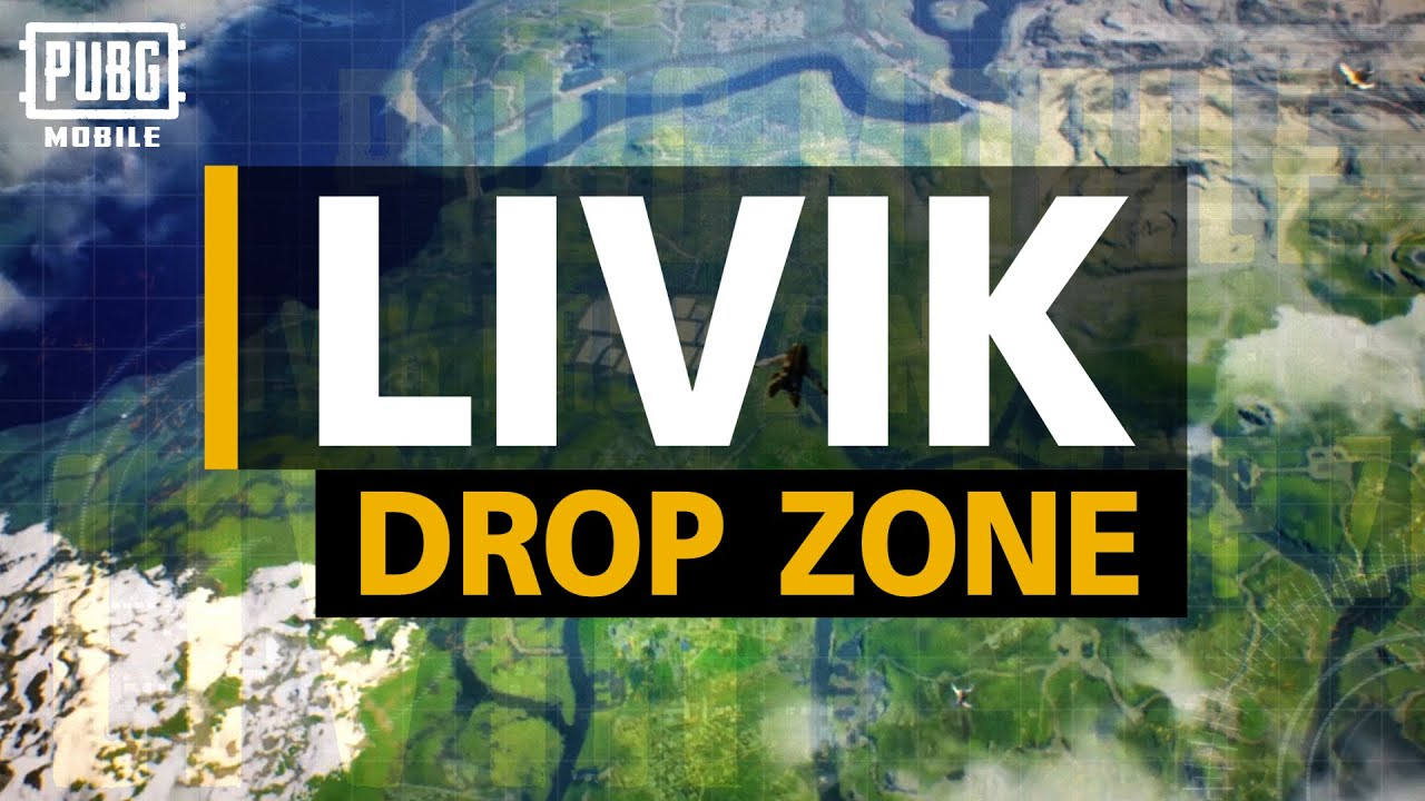💥 LIVIK Drop Zone | PUBG MOBILE