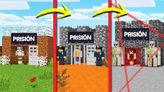 ¡PASAMOS DE PRISIÓN NOOB A PRISIÓN PRO! 😂👮 ACENIX vs INVICTOR vs ELTROLLINO EN PRISIÓN DE MINECRAFT