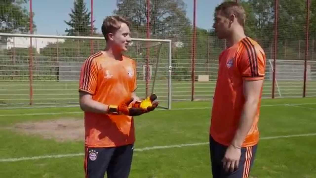 timeless design 45638 b51c3 Perfect Penalties With Manuel Neuer Gamedayplus adidas Football youtube  original