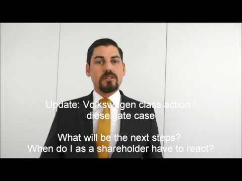 VW Class Action Lawsuit § Update for Shareholders § Dieselgate Volkswagen 2017