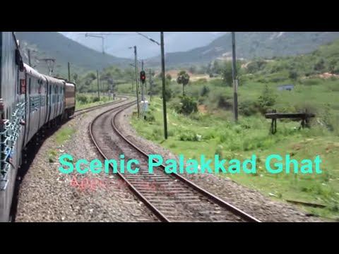 Journey Thru Scenic Kerala's PALAKKAD GAP Coimbatore  Palakkad Jn Onboard Ernakulam SF