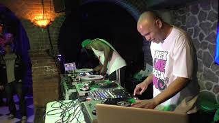 Mista Sinista & Rob Swift (X-Ecutioners) at Amendment 18