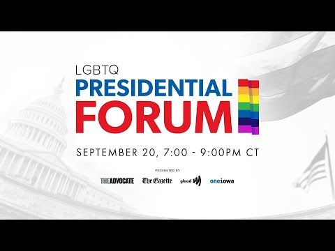 2020 Democratic Candidates Reach Out To LGBTQ Voters At Iowa Forum